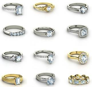 Engagement Rings Of Various Types