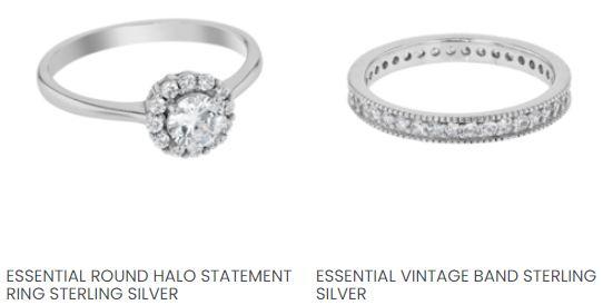 Galaxy Jewellers Silver Ladies Rings