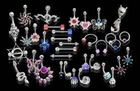 Modern body jewelry designs