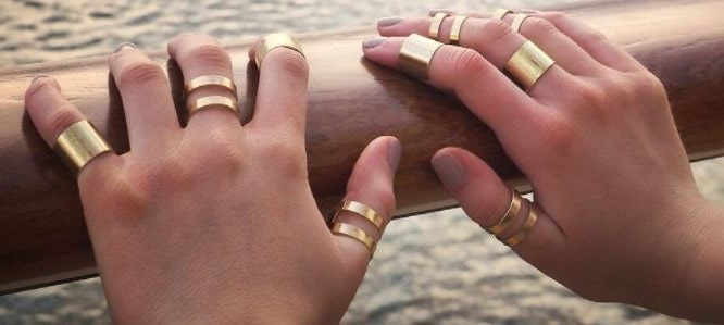 Gold rings for women in South Africa