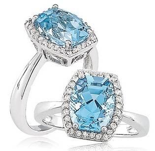 Diamond Gemstone Rings
